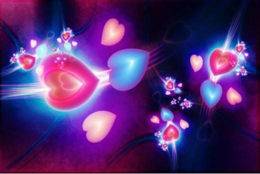 رسائل حب: صور قلوب متحركة مع خلفيات قلوب للكمبيوتر واللاب توب والموبايل بجوده...