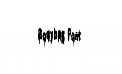 Bodybag Font