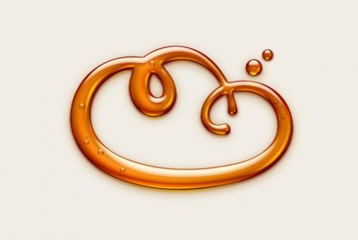 Caramel cloud logo by SoftFacade