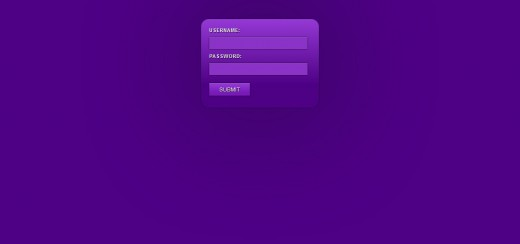 Create a Slick CSS3 Login Form NO IMAGES ALLOWED