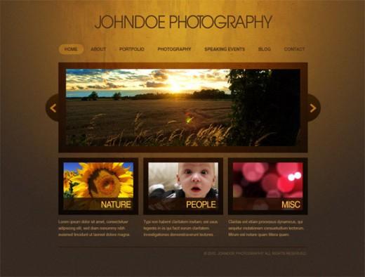 Photography Website Design Ideas 22 Creative Web Design Photoshop Layout Tutorials DesignDune