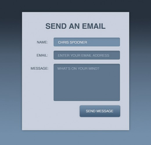 Designing Modern Web Forms with HTML 5 and CSS3