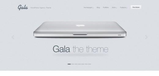 Gala, a Tasty Mac-inspired Agency WordPress Theme