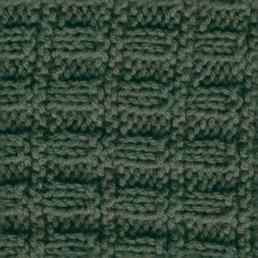 Green Crochet Seamless Texture
