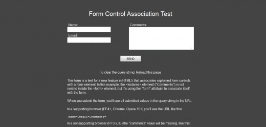 HTML5 New Form Attributes