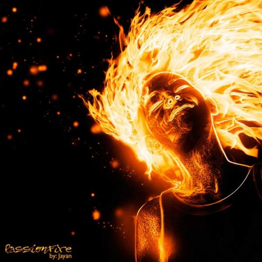 How to Create a Flaming Photo Manipulation