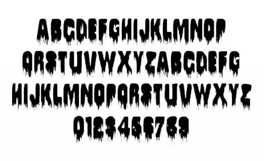 Spływaj font