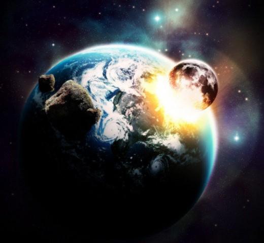 Space Explosion Photoshop Tutorial