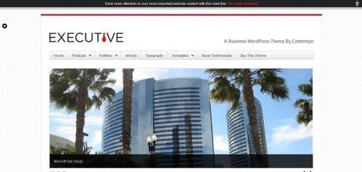 WP Executive Business & Portfolio Theme