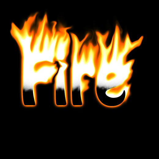 Well-Explained Fire Text Effect Tutorial in Photoshop