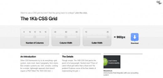 1KB CSS Grid