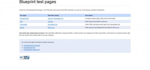 Blueprint A Solid CSS Framework
