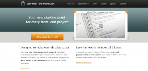 Easy Front End Framework
