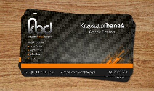 25 captivating business cards for graphic designers designdune business card for graphic designer reheart Gallery