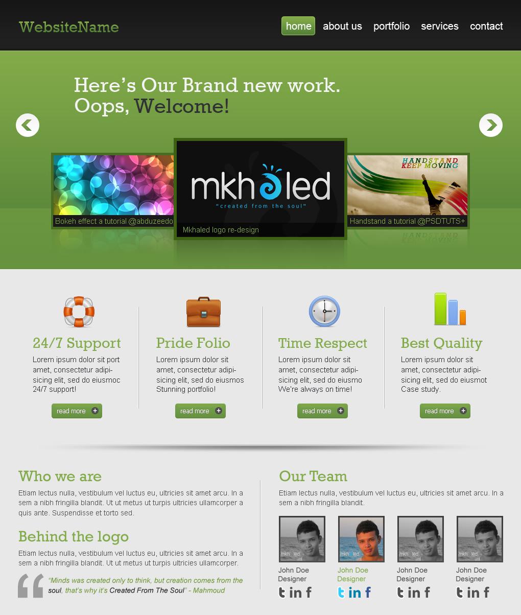 Сайт для дизайнеров хорошего разрешения