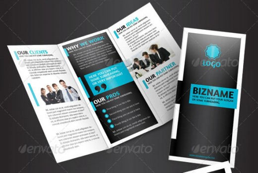 20 Cool 3 Fold Brochures Designs Inspiration DesignDune – Business Brochure Design