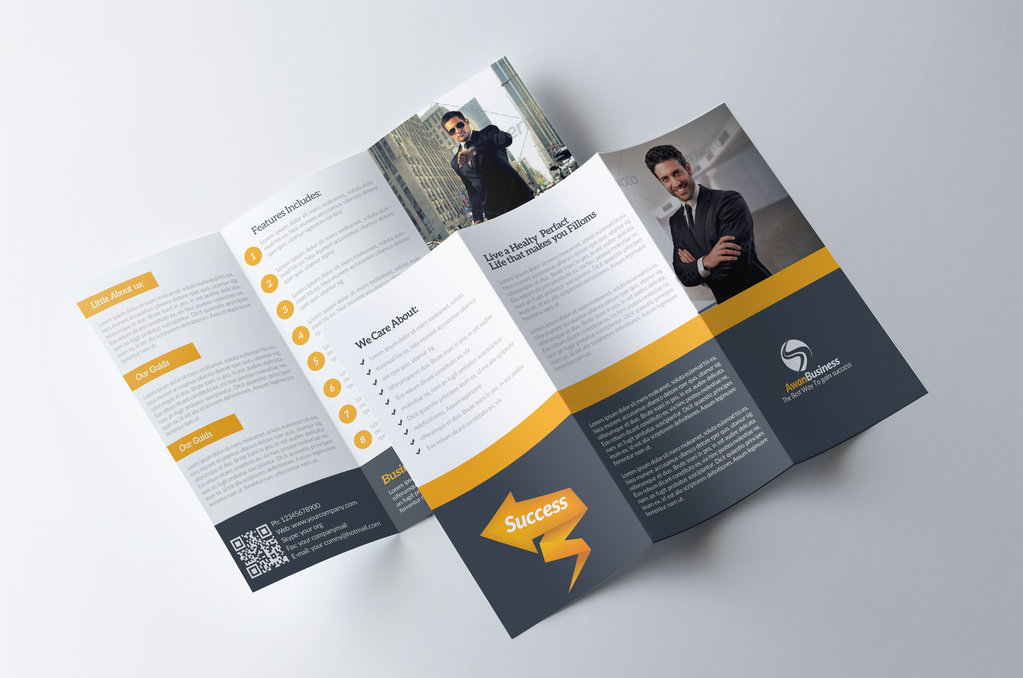 Z Fold Brochure Graphic Design