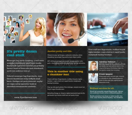 trifold brochure examples