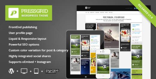 20 Powerful Premium Masonry WordPress Themes - DesignDune