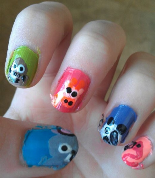 Animal Nail Art: Animal Nail Art Designs
