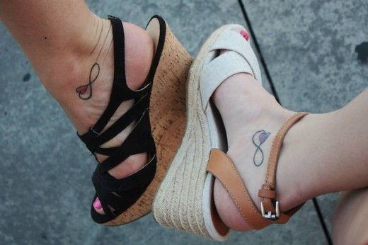 Girls Best Friend Tattoos: A Fantastic List Of Best Friend Tattoos For 2013