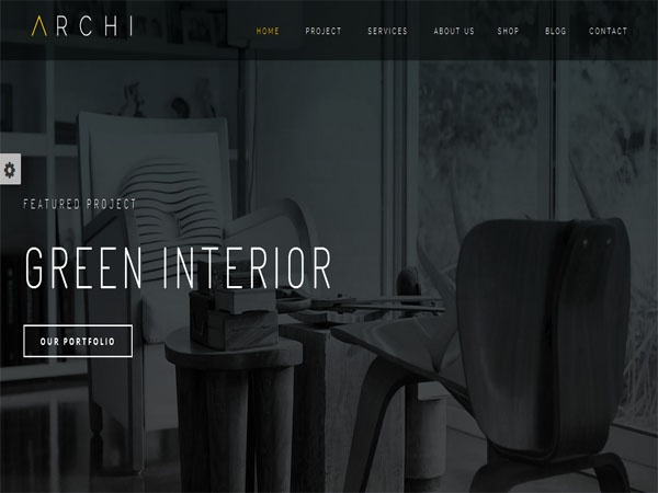 Archi is a clean and highly responsive interior design WordPress theme for  exterior design, living room design, cottage, dining room, kitchen design,  ...