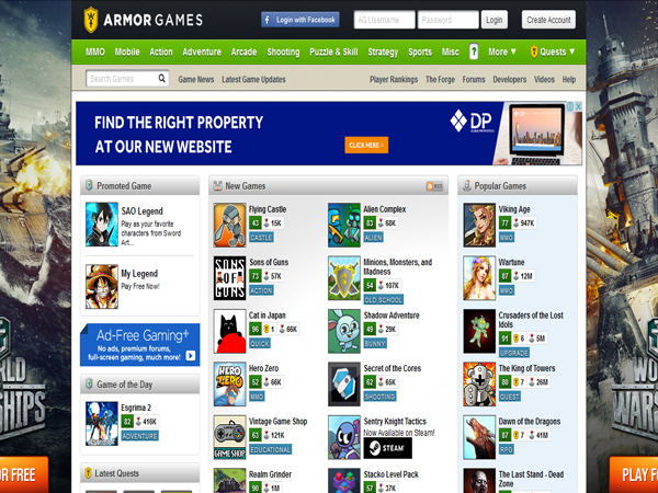 free online games websites